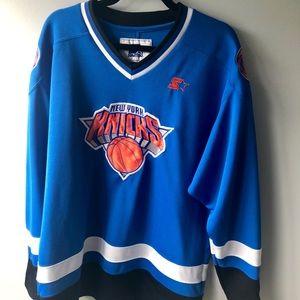 Starter Knicks hockey jersey